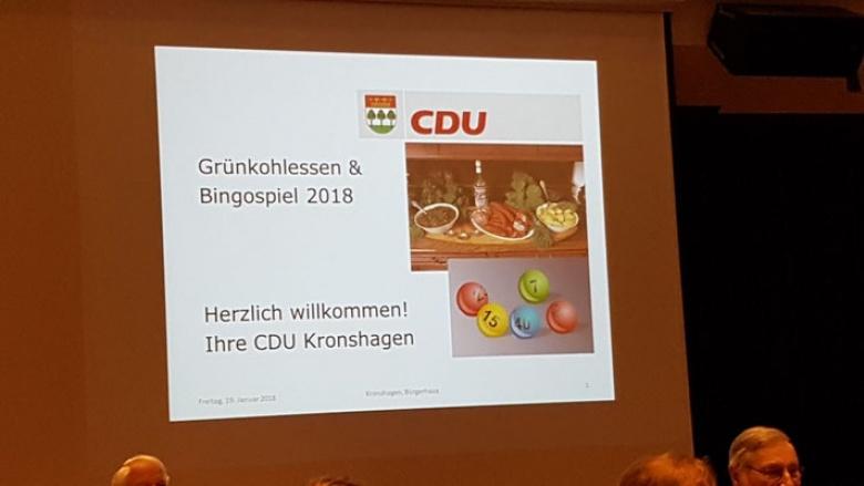 CDU Grünkohlessen sehr gut besucht